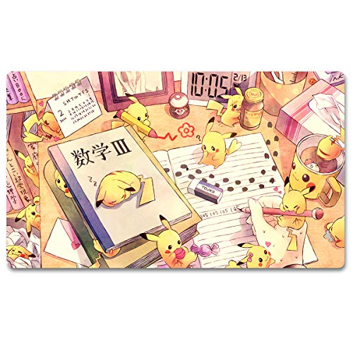 807241 - Board Game Pocket Monster Playmat Games Mousepad Keyboard Pad Size 60X35CM Table Mats for Yugioh Pokemon MTG or TCG