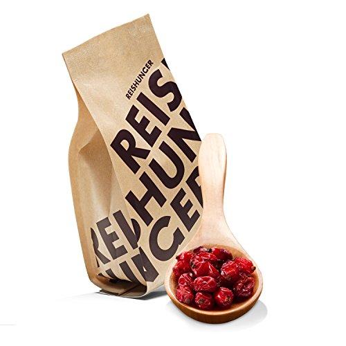 Reishunger Berberitzen der Sorte Asperma (kernlos) - Aus Spanien (4 x 100g) [als 1er, 4er und 10er Packung erhältlich]