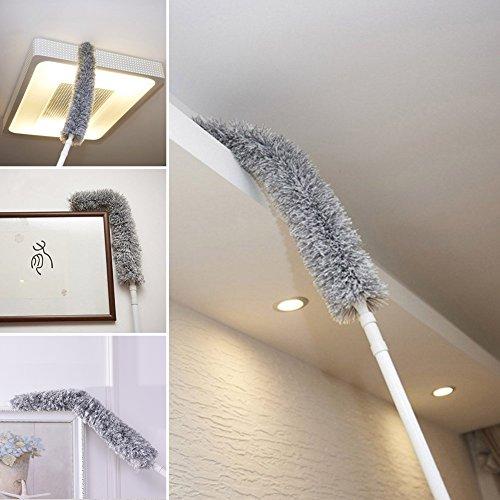 Preisvergleich Produktbild houseables Cobweb Duster mit Verlängerungsstab erreichen 127 cm - 177,8 cm biegbar,  ausziehbar,  flauschig Staubwedel