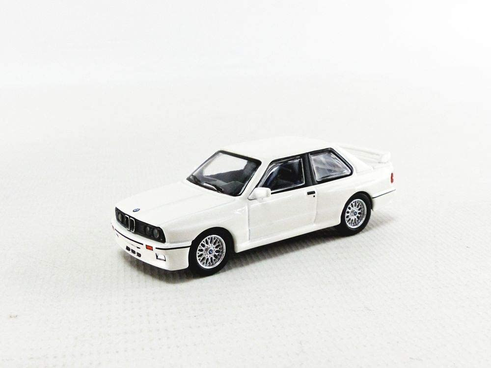 BMW m3 e30 Alpine White ** MINI GT Collection TSM MODEL 1:64 Neuf dans sa boîte