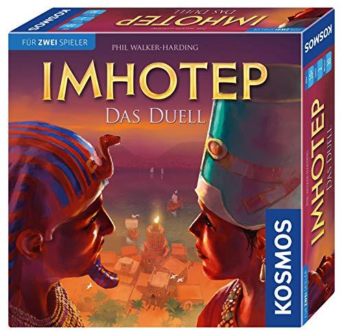 KOSMOS 694272 Imhotep - Das Duell, Brettspiel für 2 Spieler