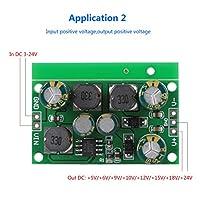 多目的ブーストバックコンバーター安定した性能DC-DCブーストコンバーターADC、DAC、オペアンプ用の正負電源(Output voltage ±9VDC)