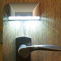PIR-Bewegungssensor: Das Bewegungsmelder-Nachtlicht kann automatisch aktiviert werden, wenn eine Bewegung innerhalb einer Entfernung von 3m erkannt wird. Schaltet sich automatisch ein,nach ca. 5 Sekunden schalten sich automatisch aus. Leuchtet sanft ...