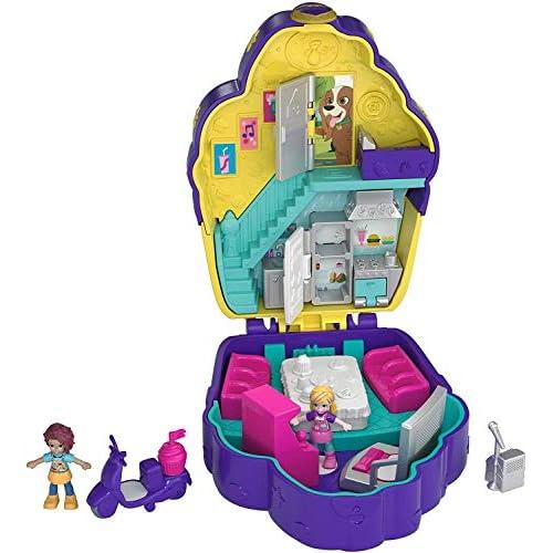 Polly Pocket, Cofanetto Bar degli Zuccherini, Giocattolo per Bambini 4+Anni, FRY36