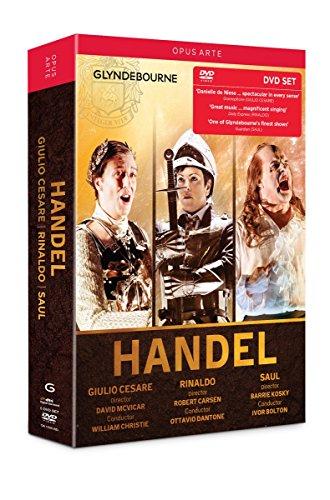 Händel: Giulio Cesare / Rinaldo / Saul (Glyndebourne) [5 DVDs]