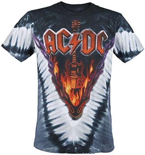 AC/DC Hell's Bells Männer T-Shirt Allover XXL 100% Baumwolle Undefiniert Band-Merch, Bands
