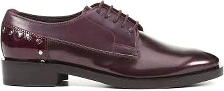 Geox Frauen Formale Formale Schuhe Damen Schnürhalbschuhe Bordo 38.5 EU Größe  authentisch
