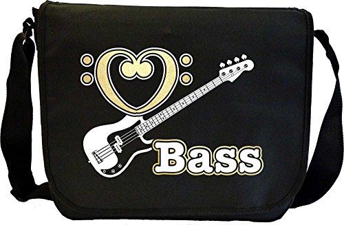 Bass Guitar Love Bass - Sheet Music Document Bag Musik Notentasche MusicaliTee
