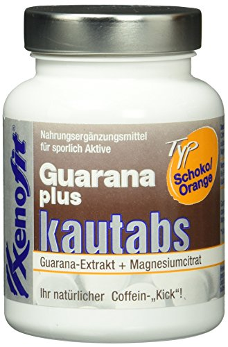 Xenofit | Guaraná | 40 kauw tabletten | Sinaasappel chocoladesmaak | Magnesium, zink en vitamine C