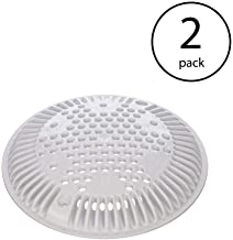 Hayward Pool Suction Outlet 8 Inch White Cover Replacement   WGX1048E (2 Pack)