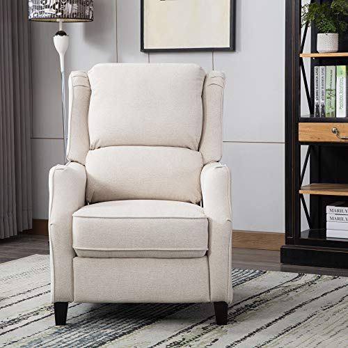 Classic Brands Holland Popstitch Upholstered Recliner Chair,...