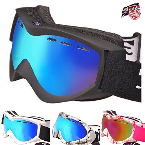 RayZor Ski Goggles – Ski Helmet Goggles with UV400 Protection –...
