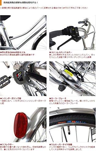 C.Dream(シードリーム)ココWスペシャルCW76-SP27インチ自転車シティサイクルシルバー6段変速BAA100%組立済み発送