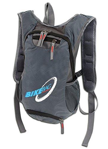 WILD THINGS ONLY !!! Fahrradrucksack für Trekking Outdoor Sport | Ultra-Leichter handlicher Rucksack fürs Bike in 2 Farben | gepolstert (Grau)