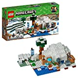 LEGO- Minecraft L'Igloo Polare, Multicolore, 21142