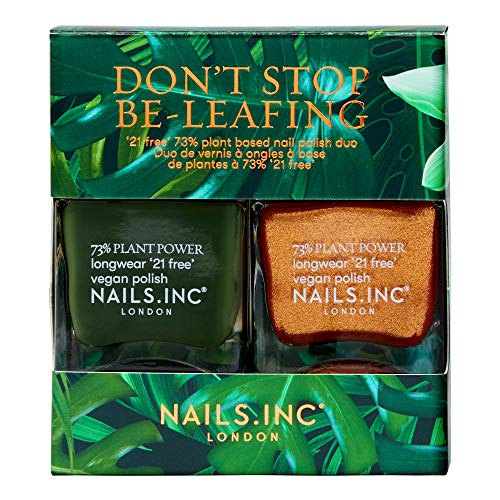 Nails.INC Don't Stop Be-Leafing Duo