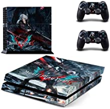 Devil May Cry 5 PS4 Wrap Skin Cover - Playstation 4 Vinyl Decal Sticker Protective for PS4 Console and 2 PS4 Controller by Mr Wonderful Skin