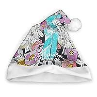 Uniqueのフラワーフェアリー クリスマスの帽子 サンタクロース クリスマスプレゼント 多機能 クリスマスの飾り 屋外 防寒 カラフル 人気 男女兼用