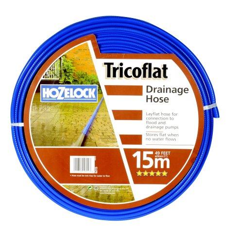 Hozelock Tricoflat Tuyau de Drainage 15 m