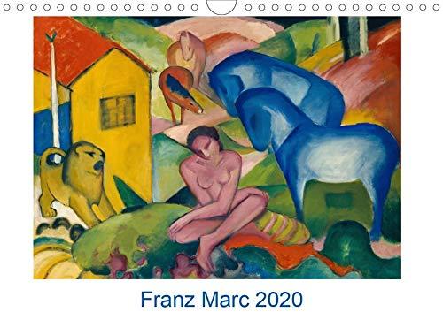 Franz Marc 2020 (Wandkalender 2020 DIN A4 quer): Zwölf farbenfrohe Gemälde des bekannten und beliebten Malers der Künstlergruppe Der Blaue Reiter (Monatskalender, 14 Seiten ) (CALVENDO Kunst)