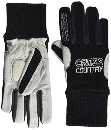 Chiba Kinder Nordic Leder Handschuhe, Kinder, Nordic Leather, schwarz, Size 6