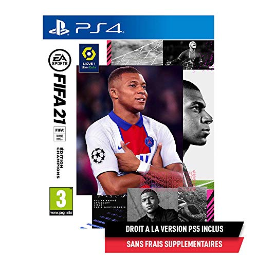 FIFA 21 Edition Champions (PS4) - Version PS5...