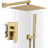Iriber Champagne Bronze Rain Shower System