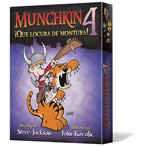 Edge Entertainment - Munchkin 4: Qué locura de montura, juego de mesa