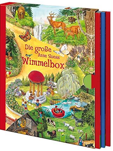 Die große Anne Suess Wimmelbox: 3 Bände im Schuber