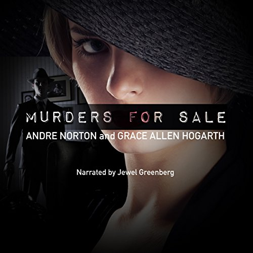Murders for Sale audiobook cover art