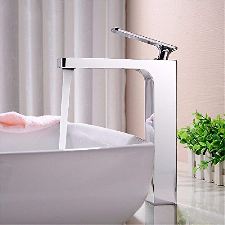 MMFHP Waschbecken Wasserhahn Kupfer Bad über Zhler Becken warmen und kalten Wasserhahn