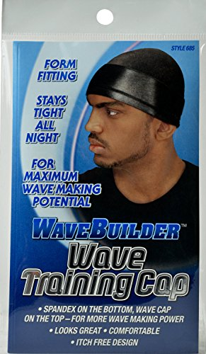 Wave Builder Wave Training Cap Black