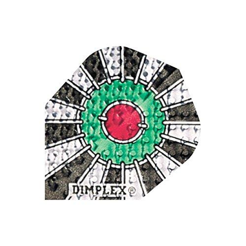 Harrows Dimplex Dart Flights Standard - Verschiedene Motive, 1 Set = 3 Stück