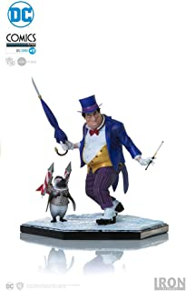 Iron Studios Penguin Collectible Figure 7 Inches Art Scale 1/10 Hand Painted Polystone Statue - by Ivan Reis (Regular Version)
