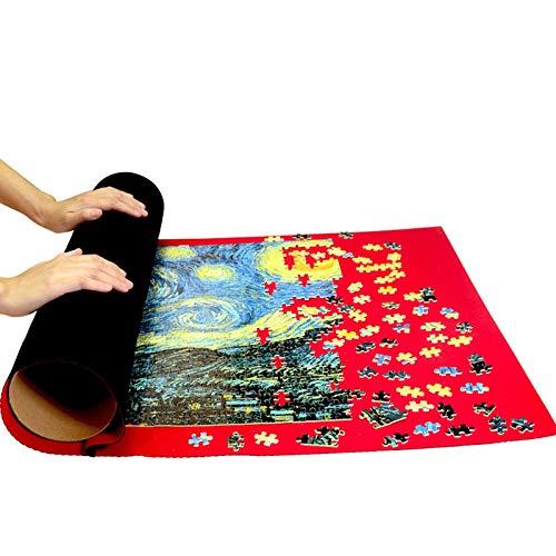 Puzzle - Pintura al óleo de Paisaje 300/500/1000 Piezas para niños, Adolescentes, Adultos, Juguete, Manga, Rompecabezas, Regalo de cumpleaños para niños AD55 (Color : Puzzle Mat, Size : 500PC)