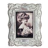 COVENT GARDEN ブーシェ フォト フレーム (アンティークグレー) 17.5×22cm アンティーク 額縁 壁掛け可能の写真