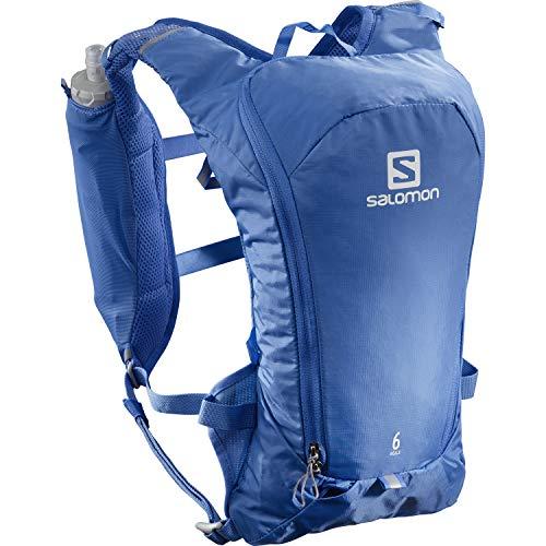 Salomon Agile 6 Mochila unisex con diseño estable en 3 puntos y confort 3D para trail running