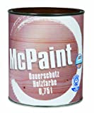 McPaint J123407D - Barniz de horno, color: marrón chocolate