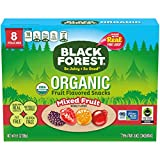 Black Forest Organic Fruit Snacks, Mixed Fruit, 0.8 Ounce (Pack of 8)