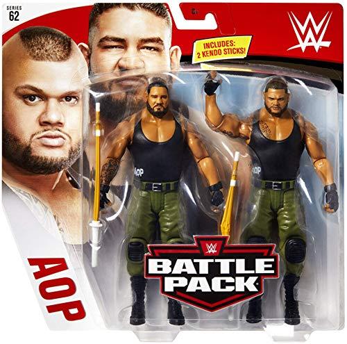Akam & Rezar AOP die Autoren von Pain WWE Kampf Packung Basic Figur Wrestling Mattel Serie 62