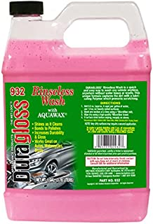 Duragloss 932 Rinseless Wash with Aquawax, 128. Fluid_Ounces