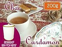 【本格】 茶缶付 カルダモンチャイ用茶葉 200g