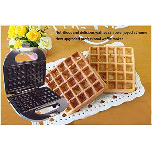 Check Out This Red tide Stainless Steel 750W Electric Waffles Maker Iron Sandwich Maker Machine Bubb...