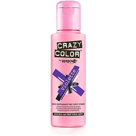 Crazy Color Violette Nº 43 Crema Colorante del Cabello Semi-permanente