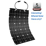 Winnewsun Flexible Solar Panel Bifacial Flexible Solar Panel 100W New Generation High Efficiency Solar Panel New Technology Solar Panel