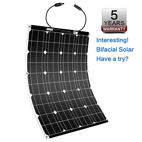 High-Efficiency Bifacial Flexible Solar Panel by Winnewsun