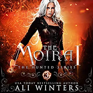 The Moirai     The Hunted Series, Book 3              By:                                                                                                                                 Ali Winters                               Narrated by:                                                                                                                                 Sarah L. Colton                      Length: 10 hrs and 8 mins     2 ratings     Overall 5.0