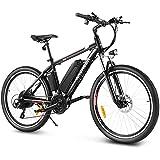 ANCHEER Bicicletta Elettrica, 26''/27,5'' Mountain Bike Elettrica, Ebike per Adulti con Batteria...