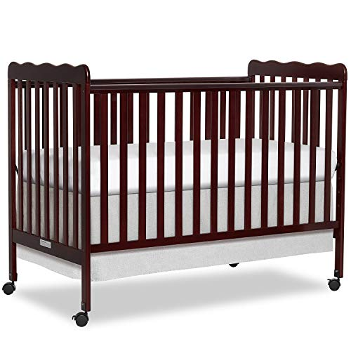 Dream On Me Carson Classic 3-in-1 Convertible Crib in Espresso, Greenguard Gold Certified