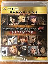 Dead Or Alive 5 ULTIMATE Favorites for PS3 Bilingual Edition Favoritos